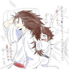 Fire Emblem: If/Fates- Ryoma & Kana