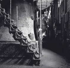 a gorgeous iron staircase in an old water treatment plant - 1 of 8 picks for this week's Friday Favorites