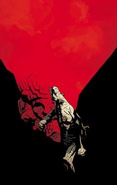 Frankenstein by Mike Mignola