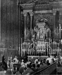 Pontifical Mass coram Summo Pontifice for Holy Thursday