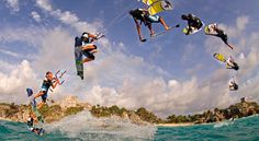 The best kite surf school in Tulum Mexico