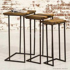 Nest of Tables - Industrial Furniture - Artisan