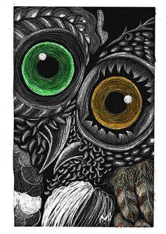 grattage_scratchboard_owl_love_digital