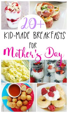 Learning to cook is a crucial life lesson for all children! 20+ Kid-Made Breakfast Recipes perfect to make together and teach kitchen skills.