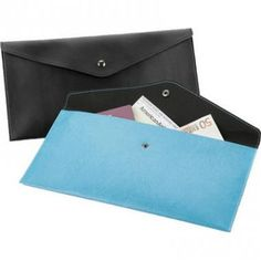 Envelope Style Travel/ Document Wallet, Belluno soft touch PU with a distinctive colour change embossing.