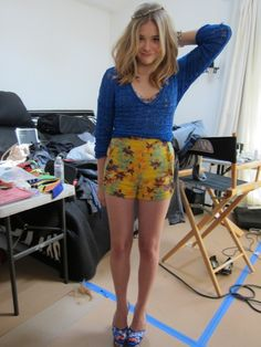 chloe moretz behind the scenes of seventeen magazine