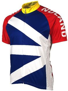 6f4c5a2a8 Adrenaline Promotions Canadian Provinces Newfoundland Cycling Jersey Multi  XLarge   Learn more by visiting the image