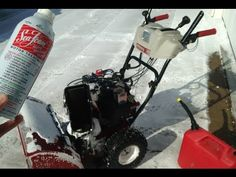 Sea Foam Official video - How to use Sea Foam and Sea Foam Spray in your Snow Blower - YouTube