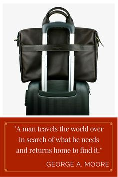 Perfect gifts for dads who love to travel - get in time for this Father's Day! Perfect Gift For Dad, Gifts For Dad, Men's Collection, Briefcase, Summer 2016, Travel Bags, Fathers Day, Leather Bag, Dads