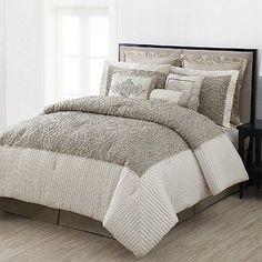 Home Classics® Celeste 12-pc. Reversible Comforter Set - Queen