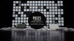 PIECES / Chapter one : Battleships by Romain Tardy (AntiVJ). PIECES is the new project of Squeaky Lobster (music) and Romain Tardy (installation, visual design).