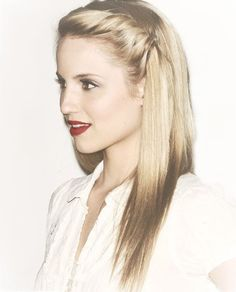 dianna agron - gorgeous girl with amazing hair