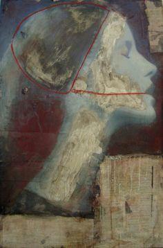 Simona Fedele. Madame Arnoux. 80x120cm. L'art Industriel.
