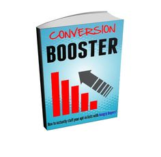 "Email Marketing Ebook - ""Conversion Booster - How To Instantly Stuff Your Opt-In List With Hungry Buyers""    This complete report reveals the fastest and easiest methods.    -----------------------------------------------------------------------------    Here's what you'll learn ...    * Uncover the real truth about testing and tweaking! There are only a handful of things worth focusing on. The rest is a complete waste of time. Find out more ... (page 6)    * Discover the different type of…"