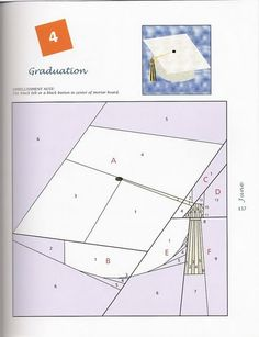"""Photo from album Foundation Quilt Blocks"""" on Yandex. Paper Pieced Quilt Patterns, Pattern Paper, Crochet Patterns, Paper Patterns, Pattern Pictures, Foundation Paper Piecing, Book Quilt, Felt Diy, Hobbies And Crafts"""