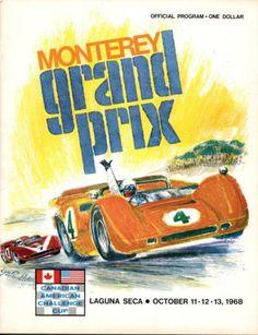 1968-Monterey-Grand-Prix-Can-Am-Race-Program-Laguna-Seca-Cannon-McLaren-Wins