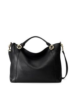 Miss GG Medium Tote Bag, Black by Gucci at Neiman Marcus...❤️❤️CHECK❤️❤️