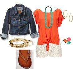 Orange & Lace