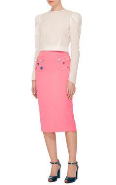 Erba Perla Pencil Skirt by VIVETTA Now Available on Moda Operandi