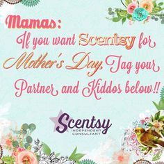 For all those moms who need Scentsy! Taerusk.scentsy.us