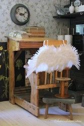 Wanha pulpetti | sateenkaarentaa angel wings