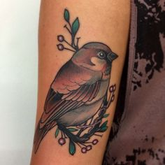Little Birdy tattoo