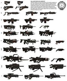 helldiver arsenal by StTheo on deviantART