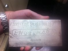 100 Troy Ounces of Pure Silver by BrentDPayne, via Flickr
