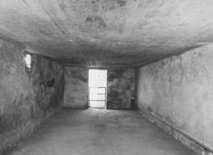 Interior of a gas chamber at the Majdanek camp. Majdanek, Poland, after July 24, 1944.
