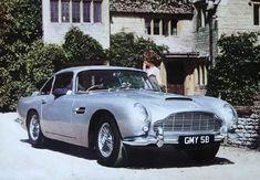 """Aston Martin DB5 - 1963/1965 - 1 021 exemplaires Dont 121 Cabriolets """" Convertible """" et 12 breaks de chasse """" Shooting Brake """" par Radford"""