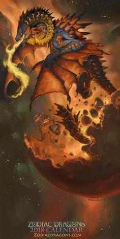 2018 Zodiac Dragon Aries http://www.zodiacdragons.com/