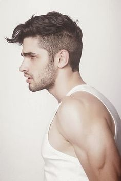 Top 10 Short Men's Hairstyles of 2019 - Page 6 of 10 - Hairstyles & Haircuts for Men & Women - Part Undercut Hairstyles, Hairstyles Haircuts, Haircuts For Men, Vintage Hairstyles, Short Haircuts, Casual Hairstyles, Mens Hairstyles 2014, Haircut Long, Gorgeous Hairstyles