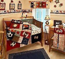 30 Awesome Sports Theme Crib Bedding Images Crib Bedding Cribs