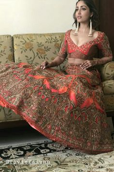 Bridal Lehenga, Lehenga Choli, Sarees, Bollywood Girls, Bollywood Actress, Hijab Fashion, Fashion Beauty, Wedding Hijab Styles, Saree Draping Styles