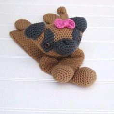 Crochet Warm Brown and Charcoal Gray Pug Ragdoll link in bio #pug #pugs #dog #dogblanket #ragdoll #crochet #lovey #securityblanket #blanket #crochetblanket #crochetdog #amigurumi #stuffedanimal #stuffedtoy #babyblanket #baby #children #babyshower #babygift #babyshowergift #birthdaygift #Christmasgift #gift by sugarnspicecreations