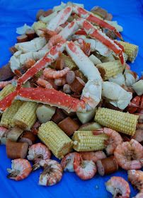 Our Family Treat: Crab and Shrimp Boil