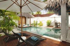 Great Interior Design to Enjoy the Earth Paradise in Velassaru: The Brown Floor Of Velassaru Resort