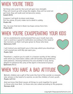 FREE Printable: 8 Scripture Verses for Struggling Moms