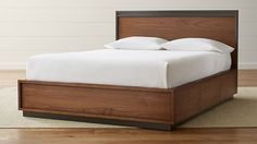 Blair Storage Bed | Crate and Barrel