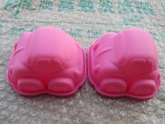 2 Pcs 3D Car soap mold Silicone Mold polymer by Creativemouldshop, $2.99