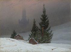 Winter Landscape, 1811, Caspar David Friedrich