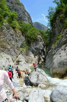 Kastamonu valla kanyonu, Turkey