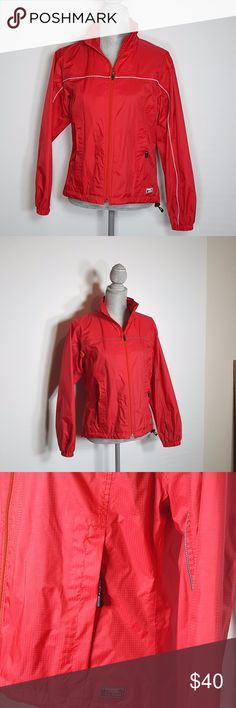 L.L. Bean Women's Small Red Gore-Tex Rain Jacket L. L. Bean Women's Red Gore-Tex Rain Jacket  Size: Red  Condition: This jacket is like new . This jacket is very lightweight with a mesh inside to keep you dry and cool. There is a pocket on the inside for extra storage. L.L. Bean Jackets & Coats