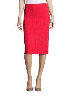 GIORGIO ARMANI Pull-On Pencil Skirt. #giorgioarmani #cloth #skirt