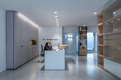 Anmeldung Kieferothodädische Praxis Dr. Steigerwald, Design Reinhard Strasser Innenarchitektur