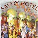 Savoy Hotel, St. Moritz, Vintage Poster