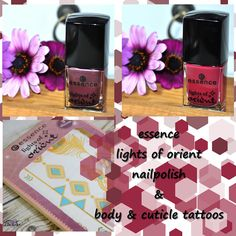 nailpolish, lights of orient, essence, blogger, beautyblogger, beauty, nagellack, body tattoos, flash tattoos, review, flowers