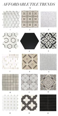 Latest Tile Trends Spotted at Lowes - Juniper Home