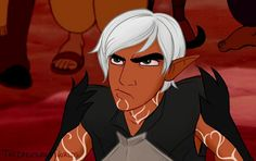 Dragon age II Disney~ Riff-raff, elf trash, I don't buy that! If only they'd look closer! Would they see a slave boy? No sir-ee, they'd find out... There's so much more... toooo meeeee!