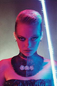 Emma Stone's Badass BLADE RUNNERPhotoshoot - News - GeekTyrant